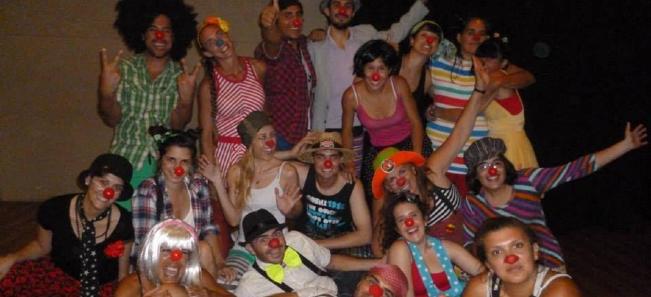 team building teatro clown